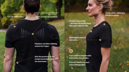 Posture_T-shirt - bättre hållning