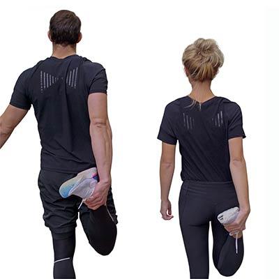 hållningströja t-shirt för bättre hållning man och kvinna