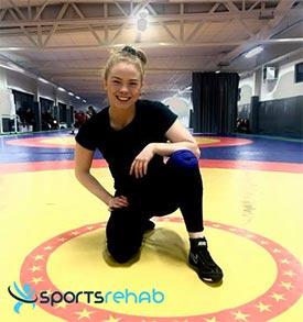 Brottning Lovisa Ljungström Bauerfeind GenuTrain Sportsrehab