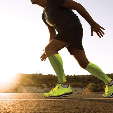 kompressionsstrumpa man löpning Sportsrehab