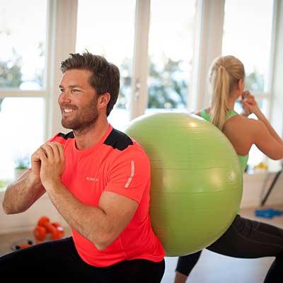 FitnessBoll 75-cm par