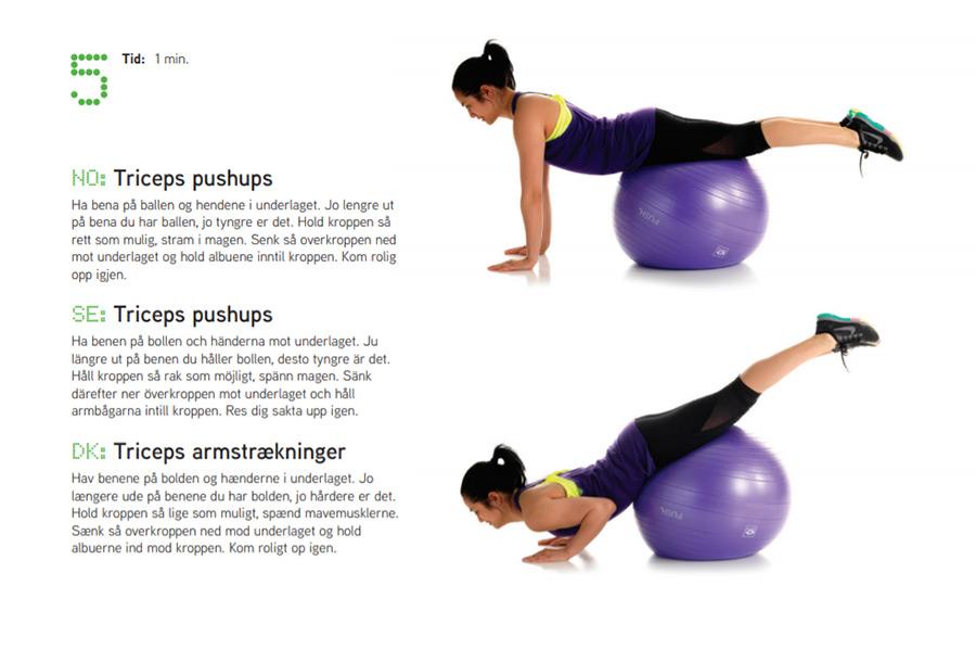 Fitnessboll övning 5 Sportsrehab